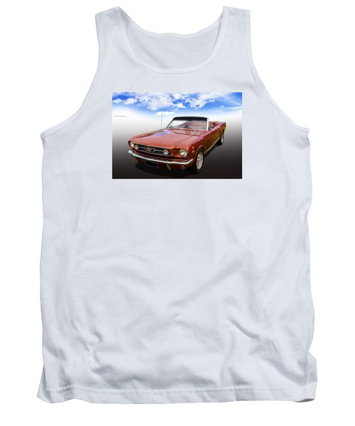 Tank Top featuring the photograph 65 Mustang by Keith Hawley