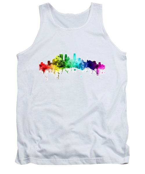 Minneapolis Minnesota Skyline Tank Top
