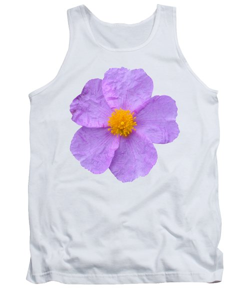 Tank Top featuring the photograph Rockrose Flower by George Atsametakis