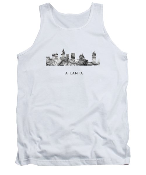 Atlanta Georgia Skyline Tank Top