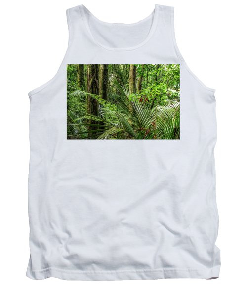 Tank Top featuring the photograph Tropical Jungle by Les Cunliffe