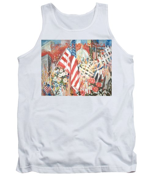 9-11 Attack Tank Top by Alexandra Maria Ethlyn Cheshire