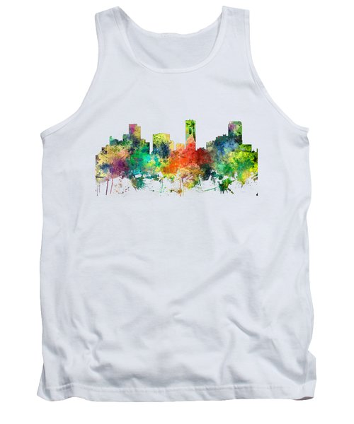 Denver Colorado Skyline Tank Top
