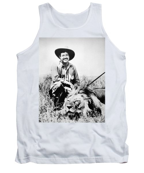 Ernest Hemingway Tank Top
