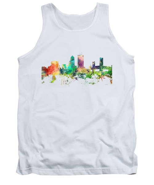 Jacksonville Florida Skyline Tank Top