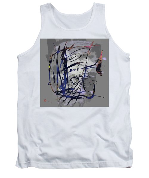 Pop Art Fish Poster Tank Top