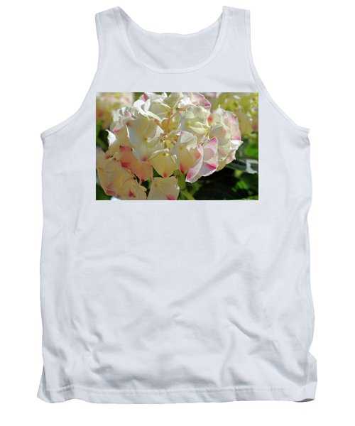 Tank Top featuring the photograph A Blush Of Pink by Cricket Hackmann