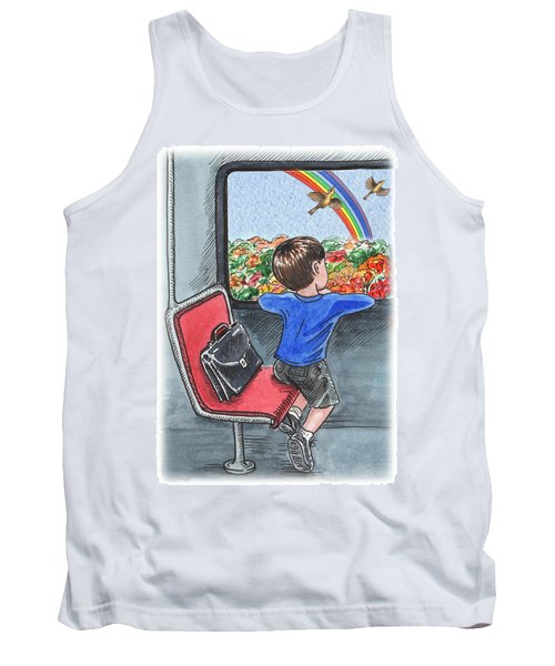 A Boy On The Bus Tank Top