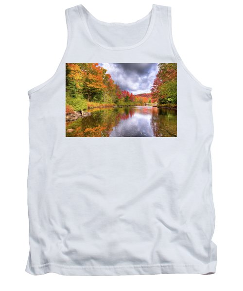 A Cloudy Autumn Day Tank Top by David Patterson