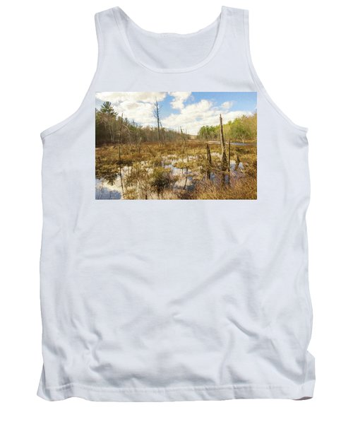 A Connecticut Marsh Tank Top