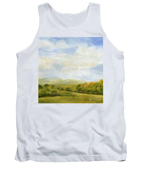 A Day In Autumn Tank Top