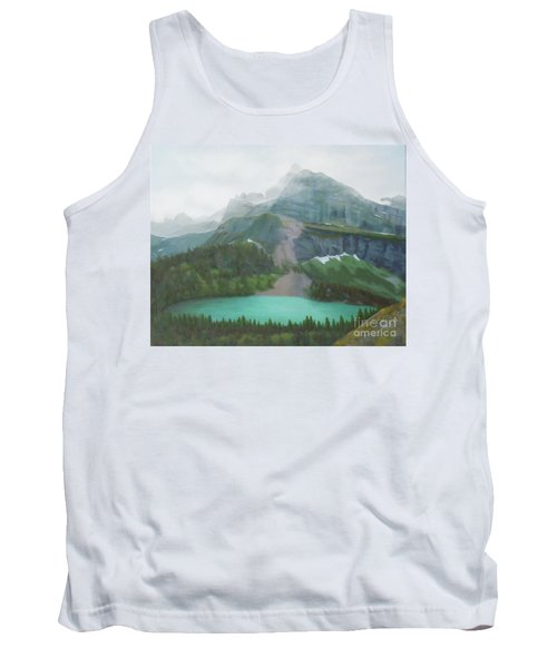 A Day In Glacier National Park Tank Top