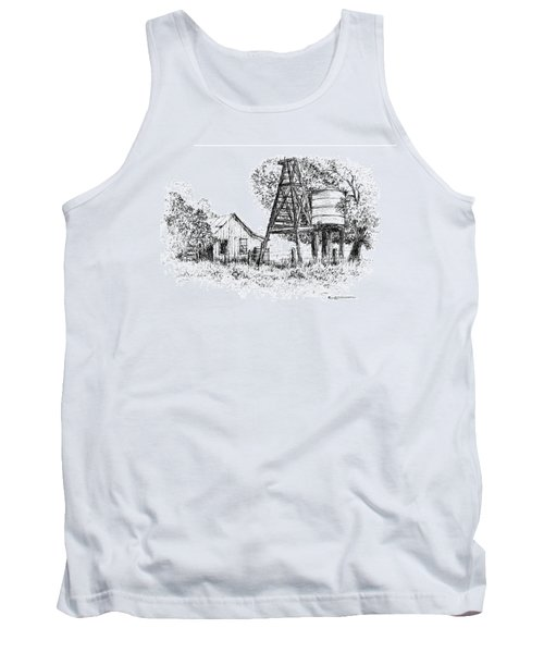 A Farm In Schroeder Tank Top