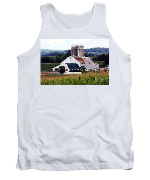 Tank Top featuring the photograph A Farmer's Paradise by Polly Peacock