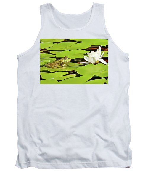 A Frog's Peace Tank Top