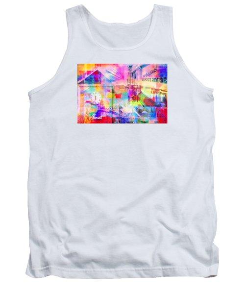 Wayzata Collage Tank Top