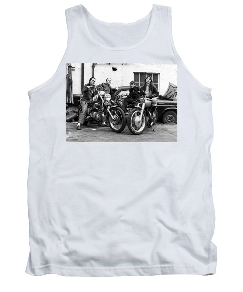 A Group Of Women Associated With The Hells Angels, 1973. Tank Top