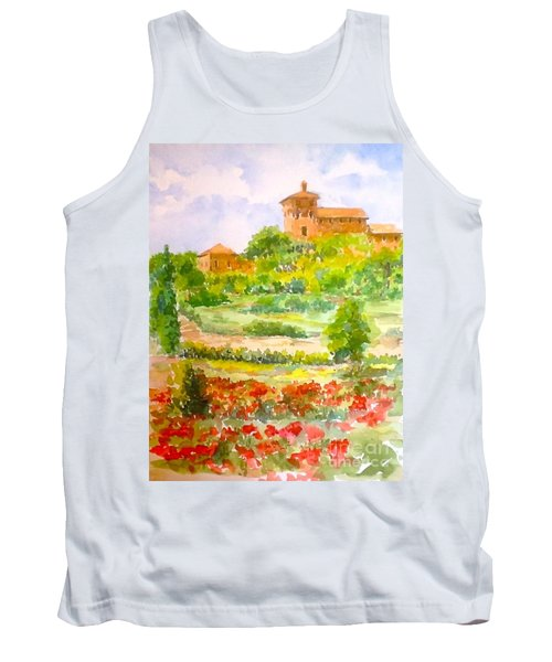 A Hillside Near San Gimignano Tank Top