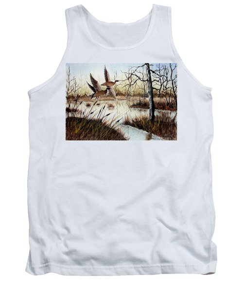 A 'jerry Yarnell' Study Tank Top