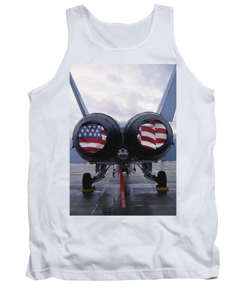 A Mcdonnell Douglas F/a-18 Hornet Twin-engine Supersonic Fighter Aircraft Tank Top