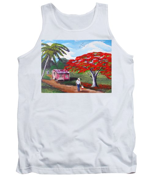 A Memorable Walk Tank Top