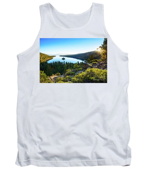 A New Day Over Emerald Bay Tank Top