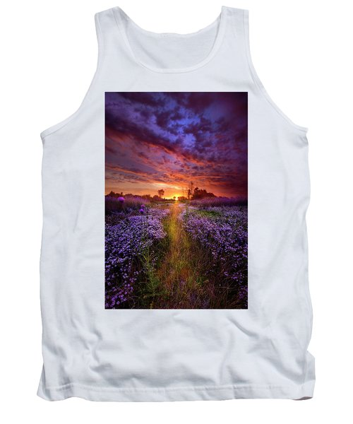 A Peaceful Proposition Tank Top by Phil Koch
