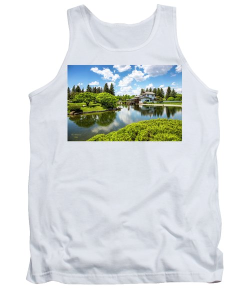 A Perfect Day In The Garden Tank Top