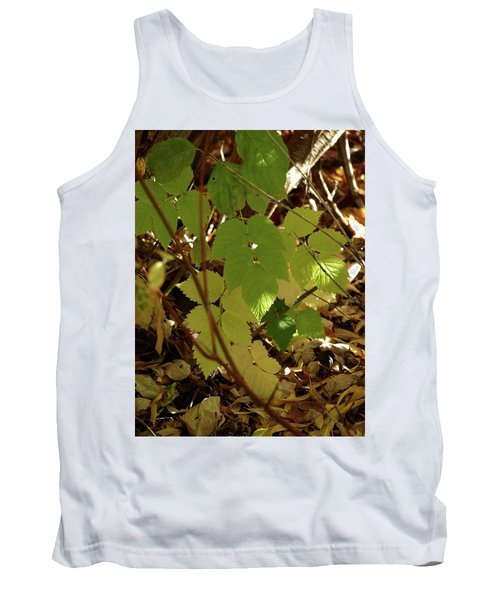 A Plant's Various Colors Of Fall Tank Top