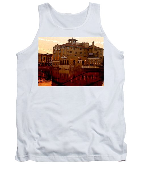 A River Of Gold Tank Top