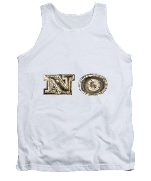 A Simple No Tank Top