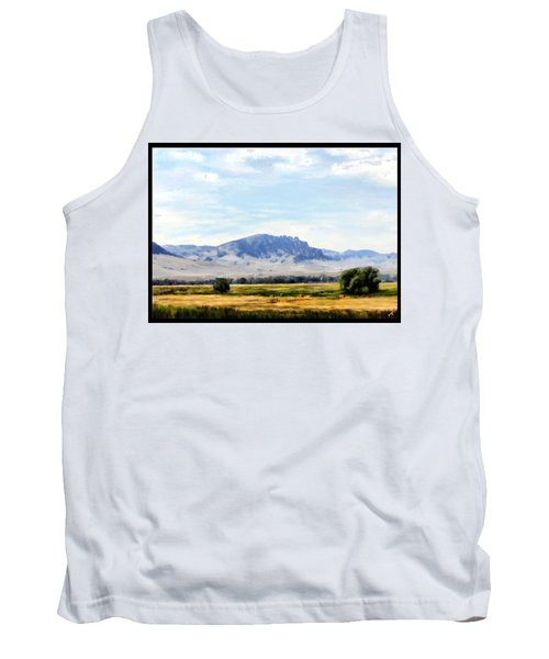 Tank Top featuring the painting A Sleeping Giant by Susan Kinney
