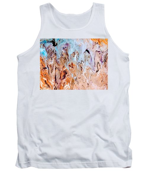 A Slice Of Earth Tank Top