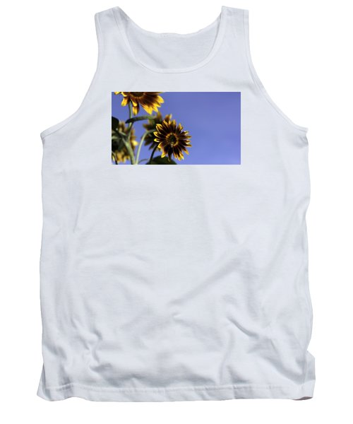 Tank Top featuring the photograph A Summer's Day by Lora Lee Chapman