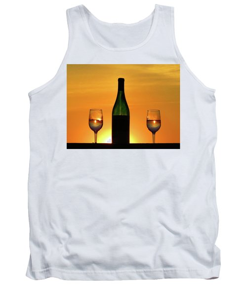A Sunset In Each Glass Tank Top