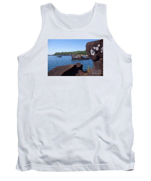 Tank Top featuring the photograph A Superior View by Sandra Updyke