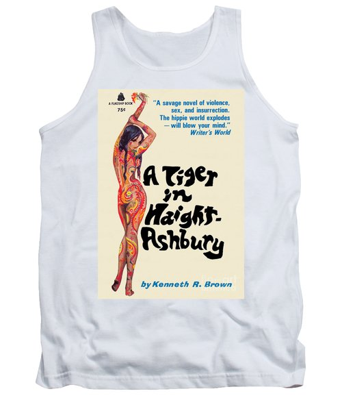 A Tiger In Haight-ashbury Tank Top
