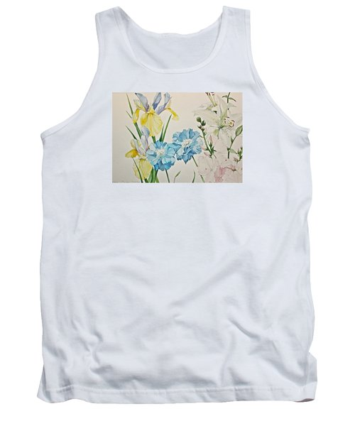 A Variety-posthumously Presented Paintings Of Sachi Spohn  Tank Top