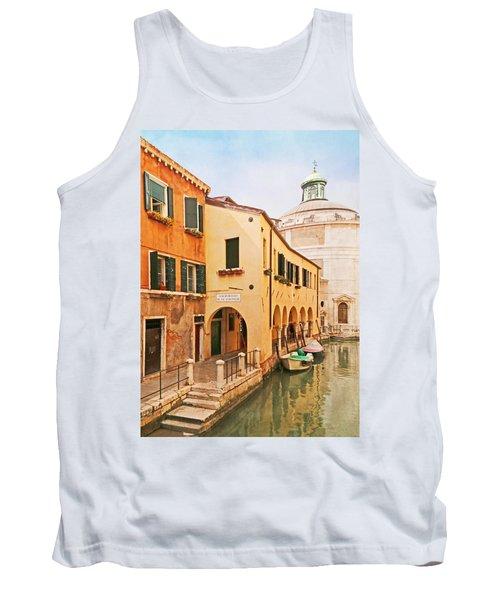 A Venetian View - Sotoportego De Le Colonete - Italy Tank Top