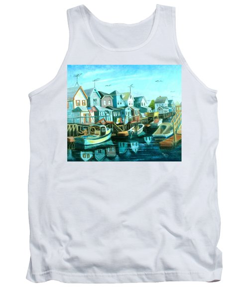 A View Of Ramblesville Tank Top