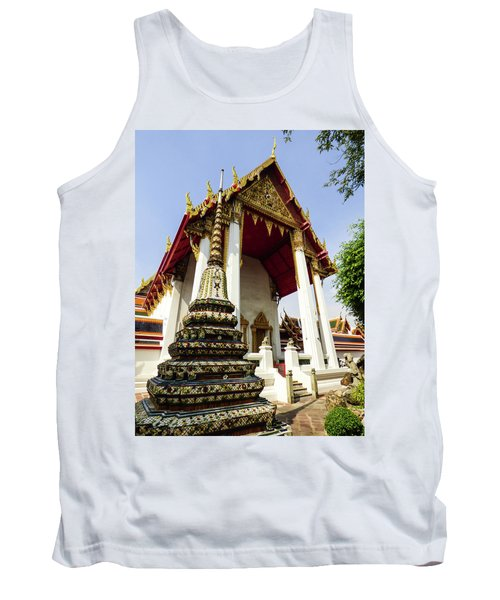 A View Of Wat Pho Temple In Bangkok, Thailand Tank Top