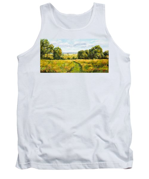 A Walk Thru The Fields Tank Top