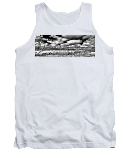 Tank Top featuring the photograph A Winter Panorama by David Patterson