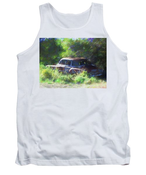 Abandoned 1950 Chevy Dop Tank Top