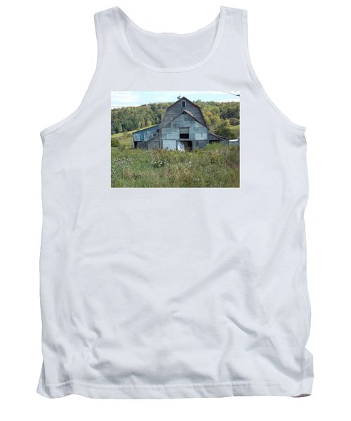 Abandoned Barn Tank Top by Catherine Gagne