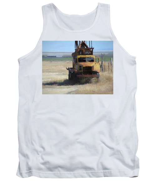 Abandoned Gmc Drill Rig Tank Top