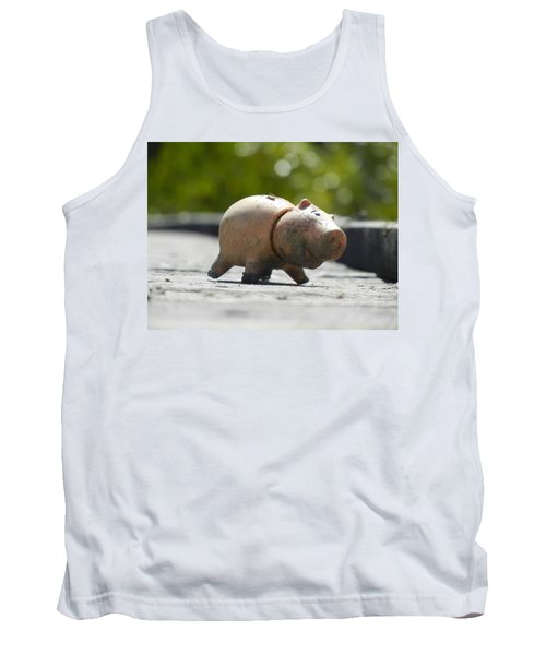 Abandoned On The Boardwalk Tank Top