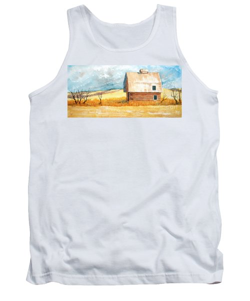 Abandoned Tank Top by Rebecca Davis