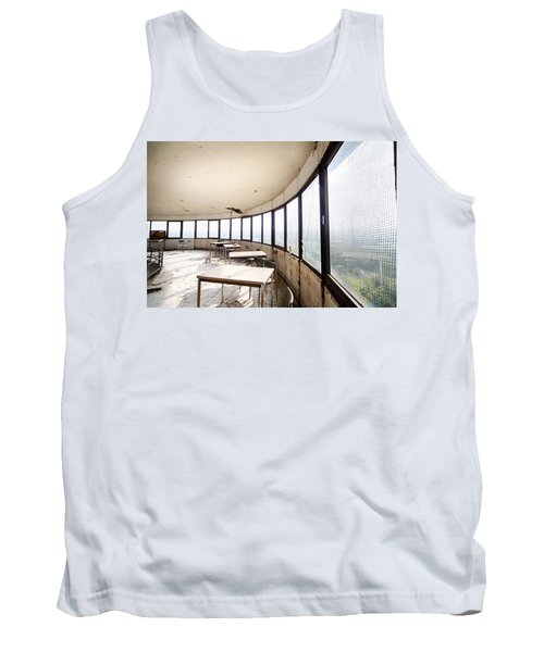 Abandoned Tower Restaurant - Urban Decay Tank Top