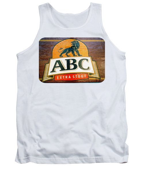 Tank Top featuring the photograph Abc Stout by Ethna Gillespie